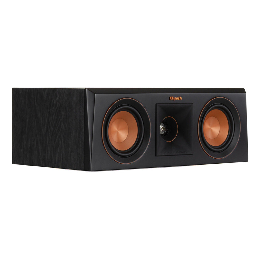 Klipsch RP-400C Center Channel Speaker (Ebony)