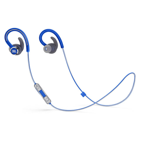 JBL Reflect Contour 2 Sweatproof Wireless Sport In-Ear Headphones - BLUE