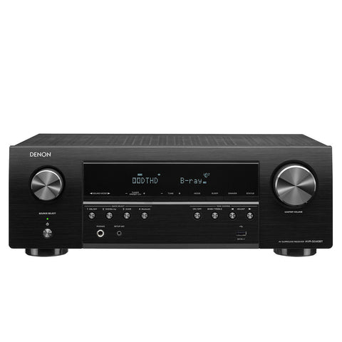 Denon AVR-S540BT 5.2 Channel 4K Ultra HD AV Receiver with Bluetooth