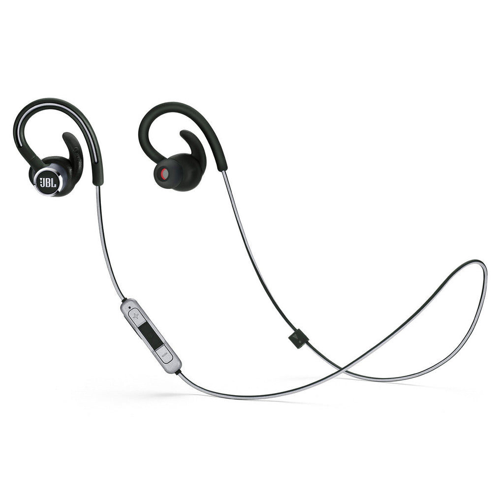 JBL Reflect Contour 2 Sweatproof Wireless Sport In-Ear Headphones - BLACK