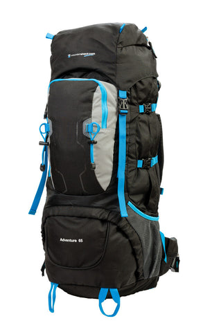 Christmas Sale Mountainshack Adventure 65 Litre Trekking Rucksack