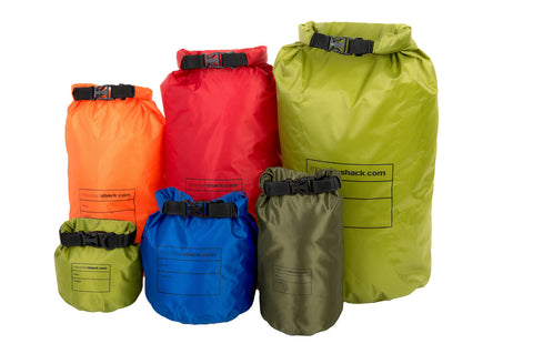 Mountainshack Waterproof Dry Bags for camping, kayaking, canoeing, sailing