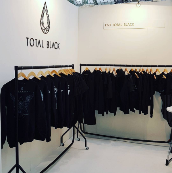 TOTAL BLACK at Pure London AW17 Fashion Show - Kensington Olympia