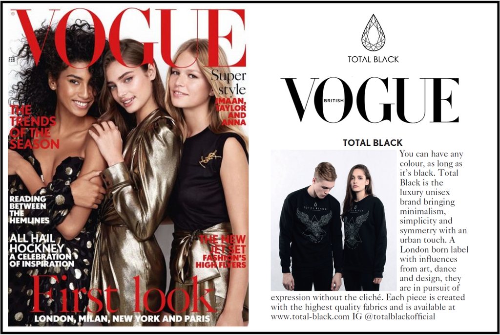 We're in British Vogue!