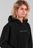 Back to Black Hoodie for Her