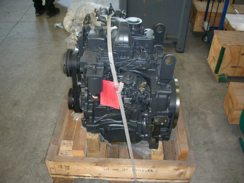 NEF (New Engine Family) Complete F4CE0354A*D600 - NEF 3TC 75 HP TURBO (FPT / New Holland / Fiat / Iveco) P/N: 504092513