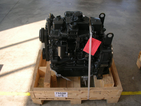 NEF (New Engine Family) Complete F4CE0404A*D603 - NEF 4NA 76,5 HP (FPT / New Holland / Fiat / Iveco) P/N: 504092514