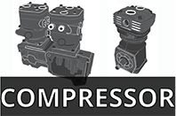 Selling Compressor for Deutz FL913, Deutz: 02347726 or 01173863 Wabco: 4111418450