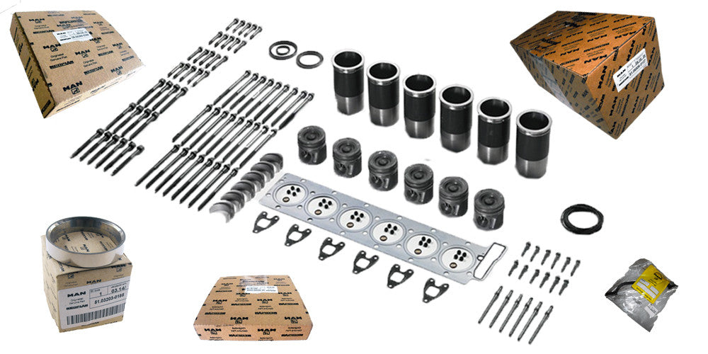 Genuine New | Aftermarket | Reman Engine Parts for MAN Shortblocks, Longblocks
