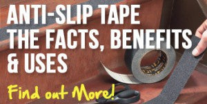 Anti-Slip Tape – The Facts, The Benefits, and The Uses