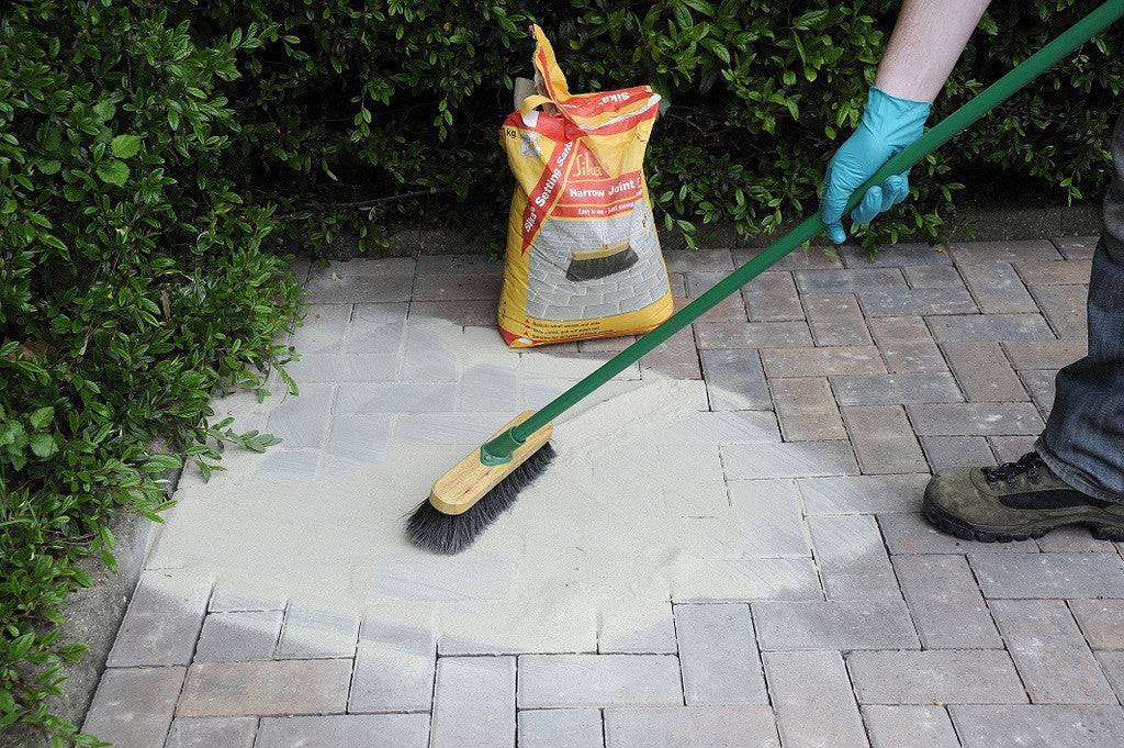 How to Apply Jointing Sand For Block Paving