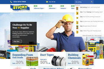 Sticky Products - New Website Launch!