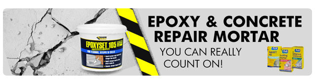 Epoxy & Concrete Repair Mortar | Sticky Products