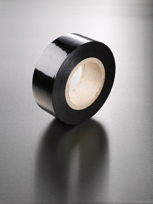 Black Removable Protection Tape - 6 x 100mm x 100m rolls