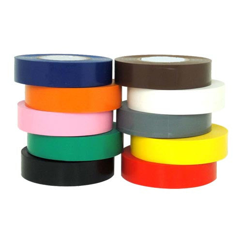 PVC Electrical Insulation Tape - White - 48 x 19mm x 33m rolls