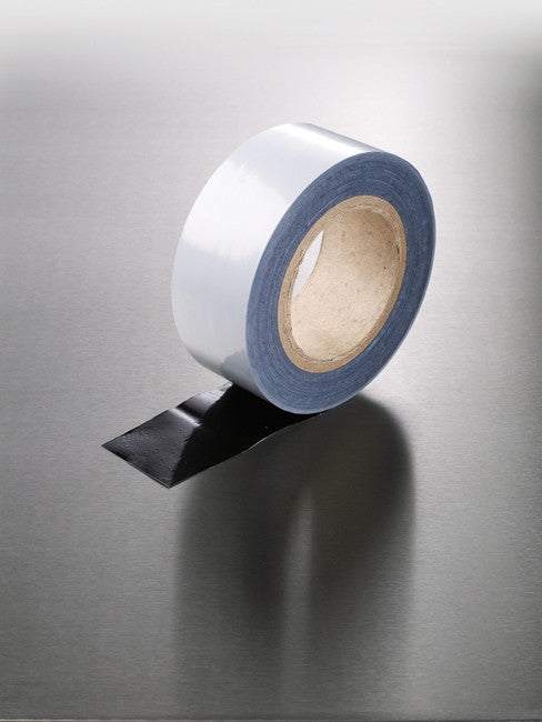 White Low Tack Aluminium Panel Protection Tape - 48 x 25mm x 100m rolls
