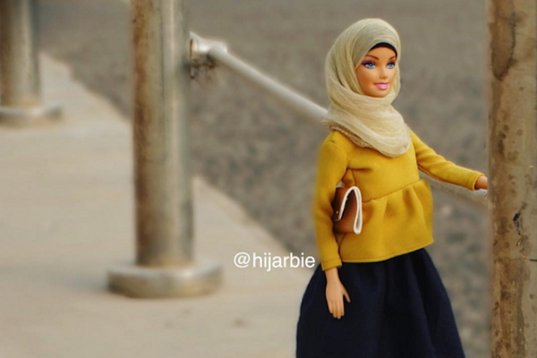 You have to follow Hijab Barbie