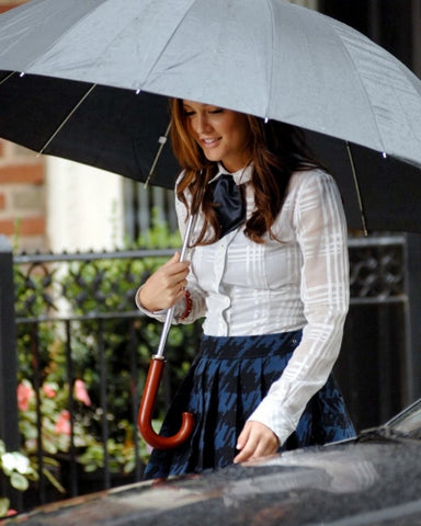 Blair Waldorf modest woman take a look in the closet of blog nesci modest fashion
