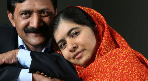 malala and her father power woman inspiration Ziauddin Yousafzai blog nesci