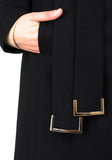 Maxi Coat North - Black -  - Nesci Fashion - modest - 4