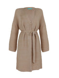 Bonsai Belted Cardigan - Beige -  - Nesci Fashion - modest - 1