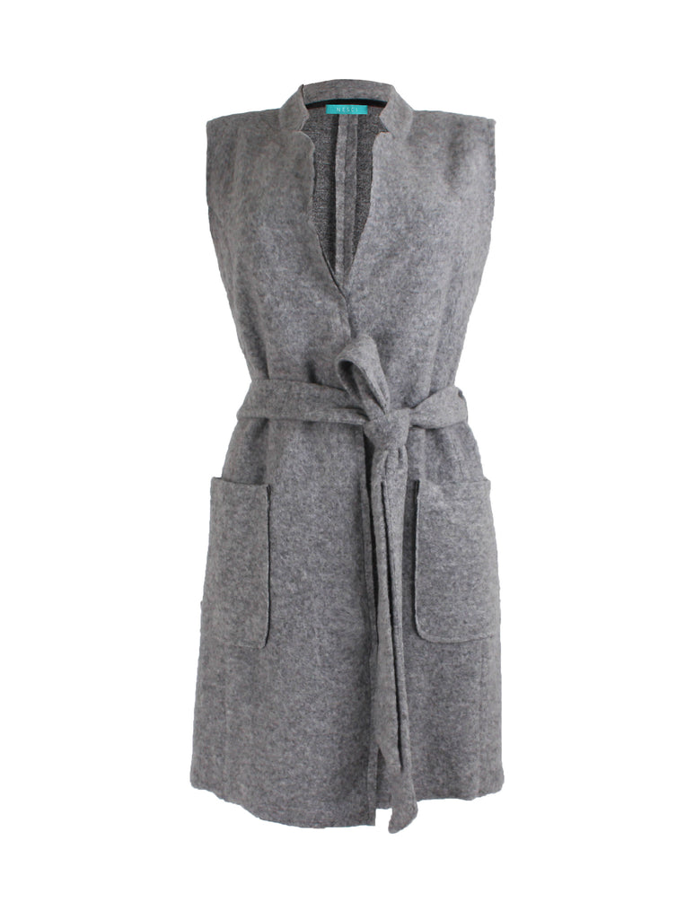 Sakura Gilet - Grey -  - Nesci Fashion - modest - 1