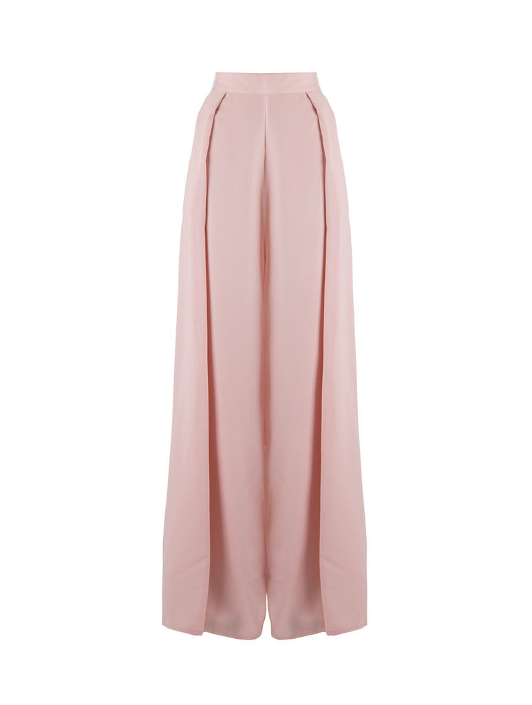 Verita High Waist Pants - Pink -  - Nesci Fashion - modest - 1