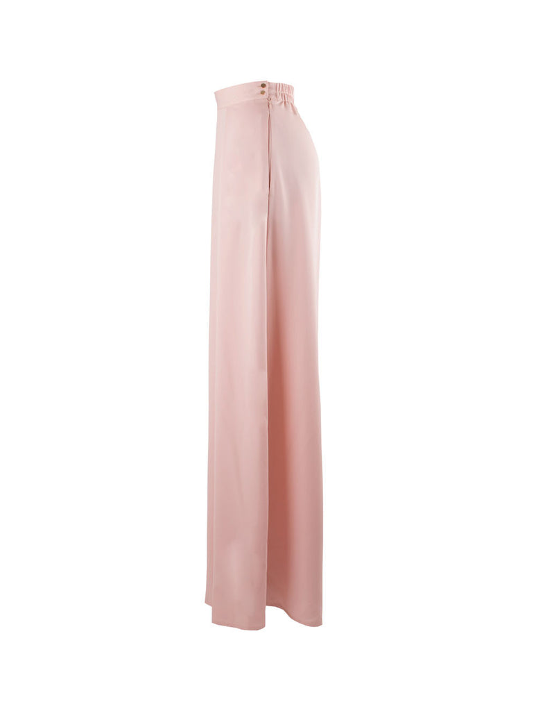 Verita High Waist Pants - Pink -  - Nesci Fashion - modest - 2