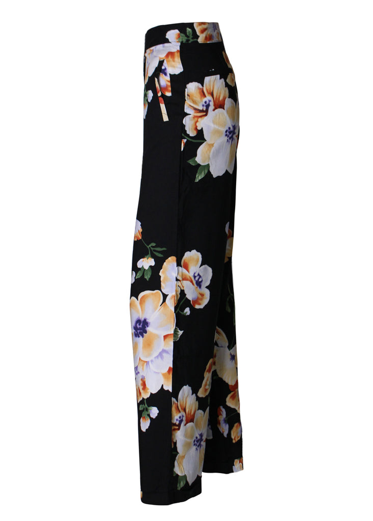 Wide Pants - Flower