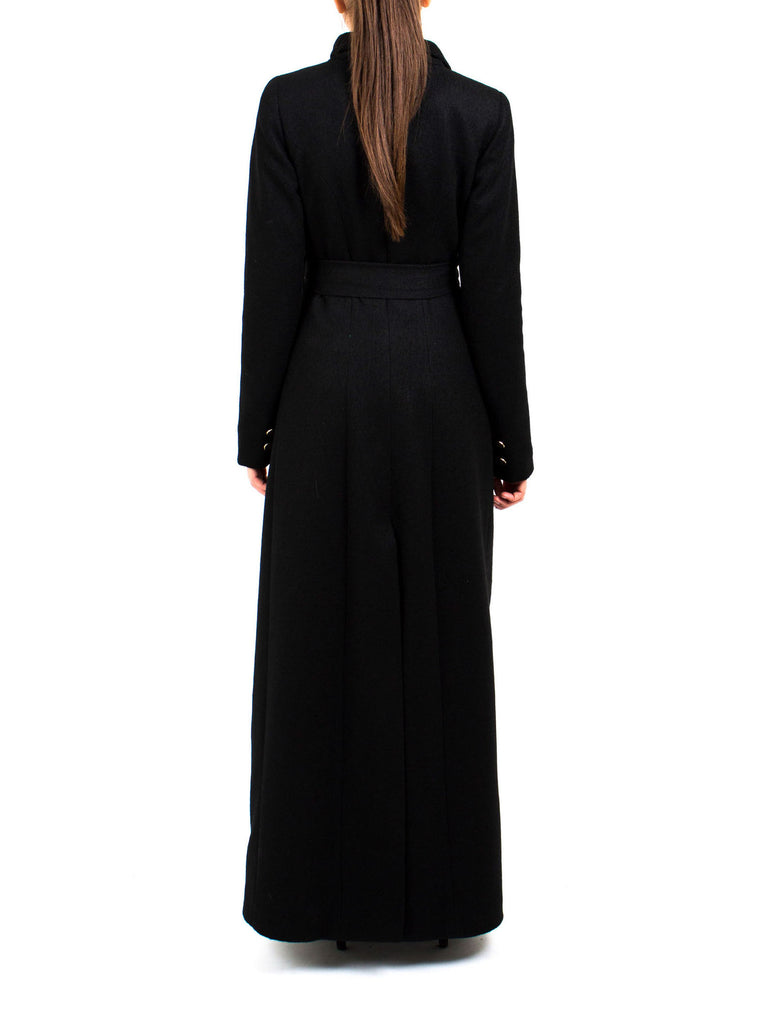Maxi Coat North - Black -  - Nesci Fashion - modest - 5
