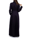 Maxi Coat North - Navy -  - Nesci Fashion - modest - 2