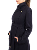 Maxi Coat North - Navy -  - Nesci Fashion - modest - 3