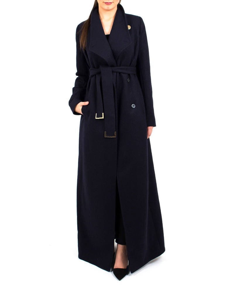 Maxi Coat North - Navy -  - Nesci Fashion - modest - 4