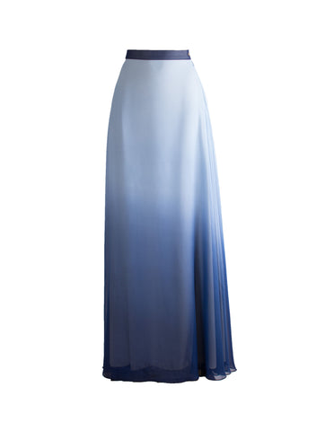 Harmonica Skirt - Royal Blue