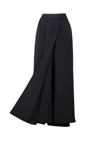 Millefeuille Skirt - Navy
