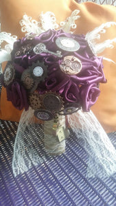 Steampunk Glam Bouquet
