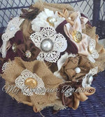 Shabby Rustic Chic Bouquet