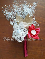 Country Star Boutonniere
