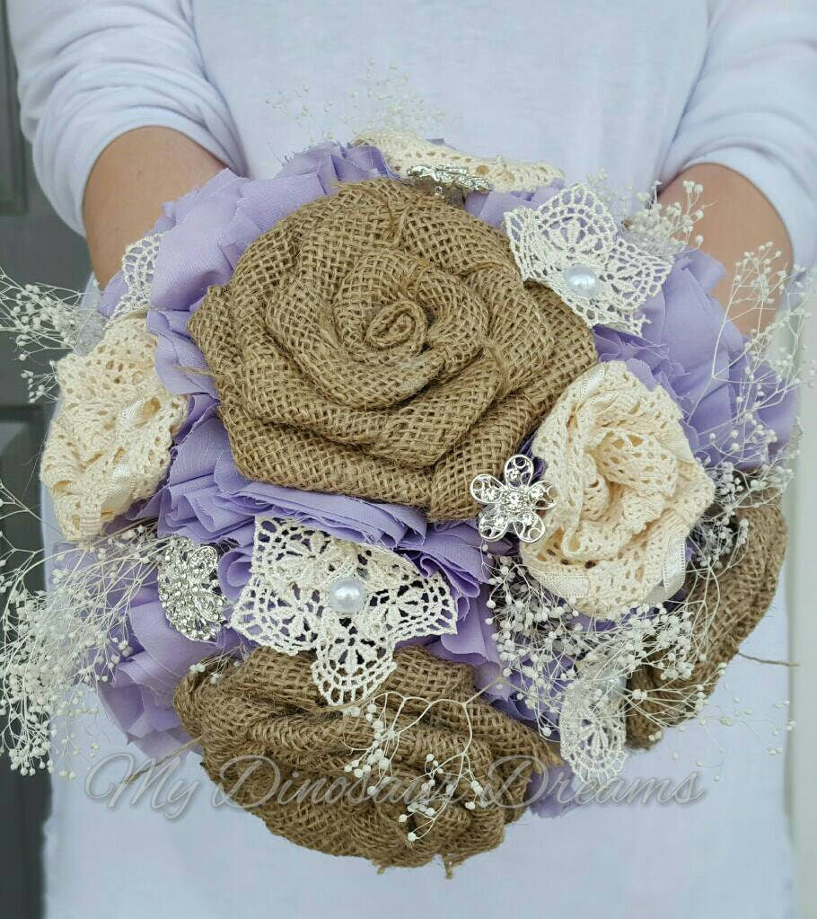 Rustic Charm Bride Bouquet