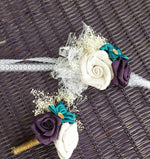 Rustic Charm Wrist Corsage