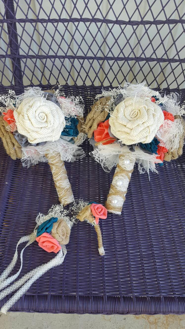 Rustic Rose Wrist Corsage