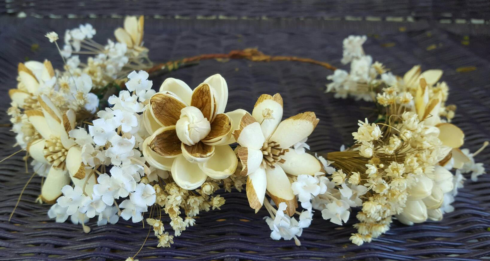 Wood Nymph Flower Crown