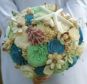 Sea Nymph Sola Wood Bouquet