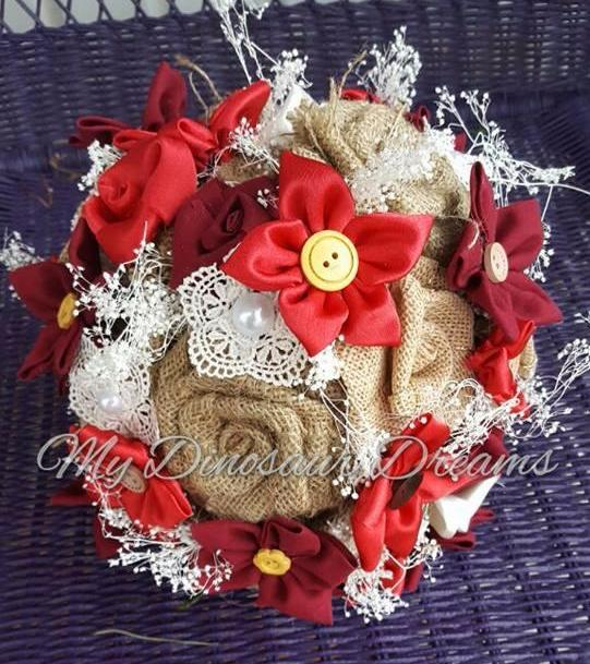 Country Lace Bouquet