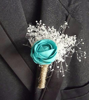 Teal Blue Bouquet