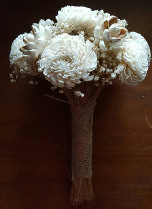 Dryad Wooden Flower Bouquet