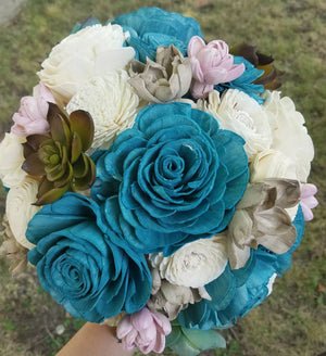 Wooden Desert Wonderland Bouquet