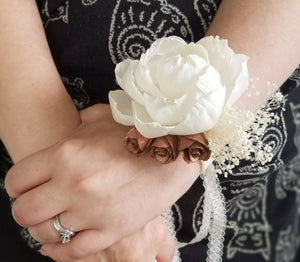 Perfect Peony Sola Corsage