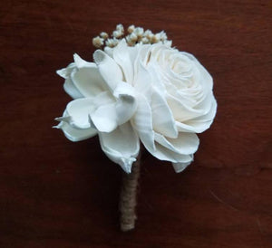 Rustic Woodland Boutonniere