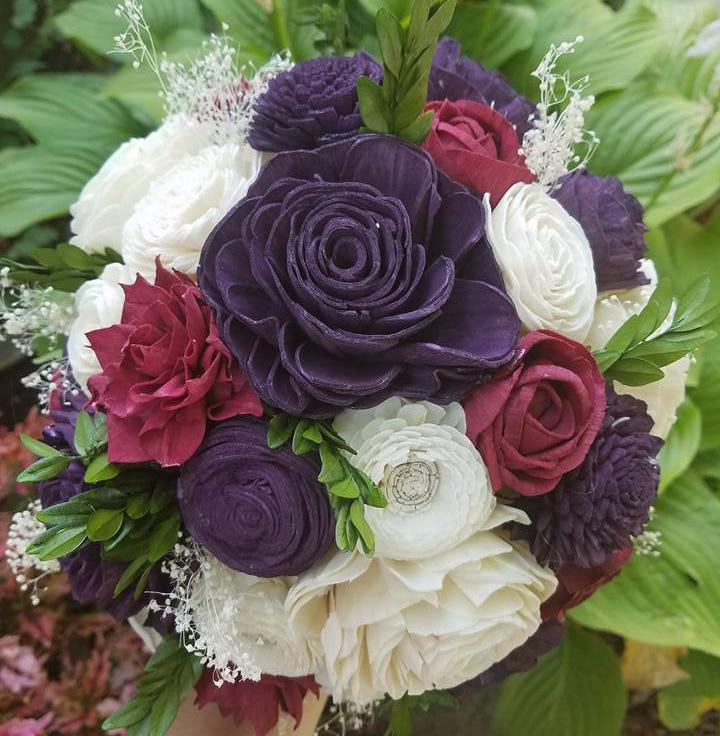 Plum Berry Bouquet